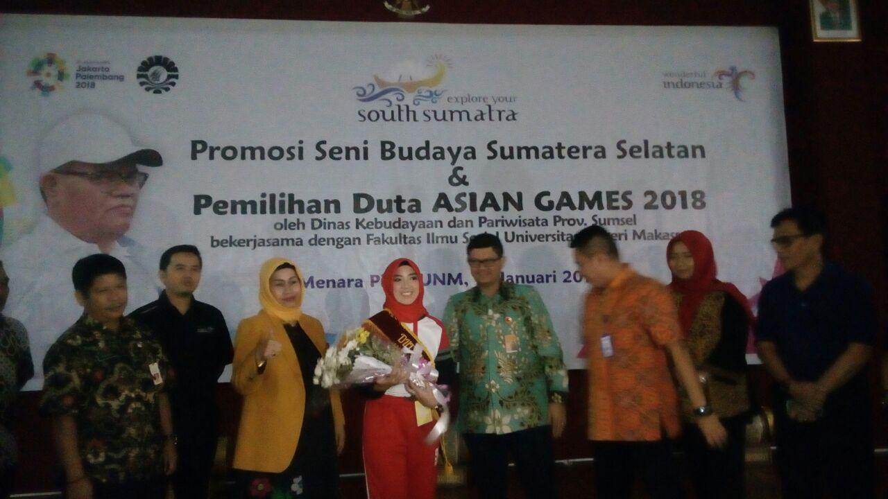 Mahasiswa Administrasi Pendidikan UNM Jadi Duta Asian Games 2018